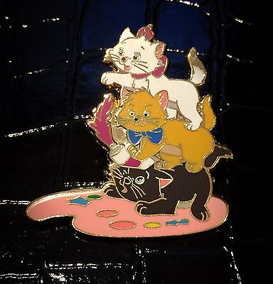 Fantasy Marie Berlioz Toulouse Kitten Paint Aristocats Cat Disney Pin Prototype