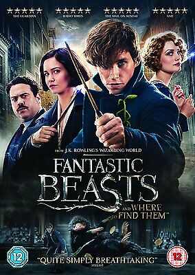 Fantastic Beasts And Where To Find Them Dvd Brand New And Sealed Harry Potter