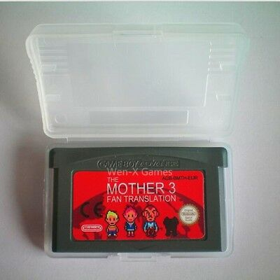 Mother 3 GBA Game Boy Advance Italian  Spanish  French  Portuguese language