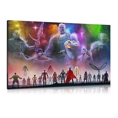 HD Print Oil Painting Home Decor Art on Canvas Avengers Infinity War Unframed