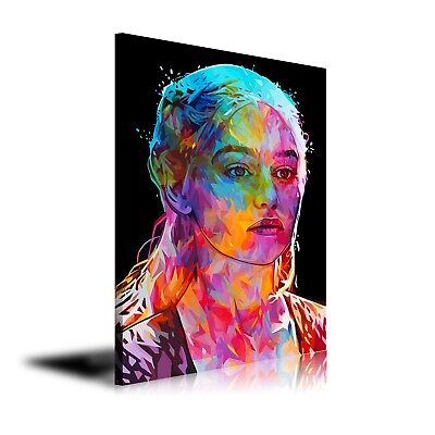 HD Print Oil Painting Decor Art on Canvas Game of Thrones Daenerys Targaryen