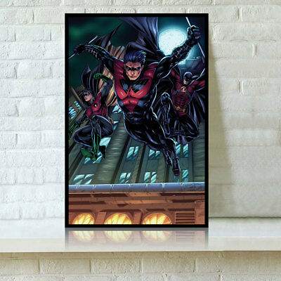 HD Print Oil Painting Home Decor Wall Art on Canvas Nightwing Unframed
