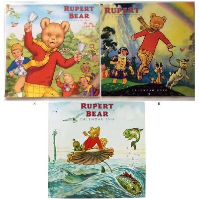 Rupert Bear Calendar Bundle
