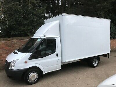 Ford Transit MK7 2013 Luton box van with tail lift, 63 plate  96000 miles
