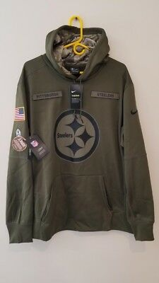 808904cf340 NIKE PITTSBURGH STEELERS 2018 Mens NFL Salute to Service STS Therma ...