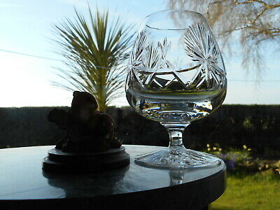 "Edinburgh Crystal  STAR OF EDINBURGH  5"" LARGE BRANDY  glass OR glasses"