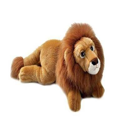 Russ Berrie Yomiko Large Lion Soft Plush Toy Gift New