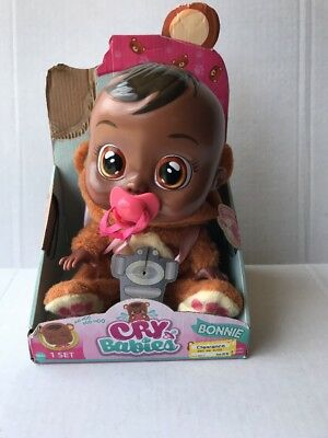 NEW Cry Babies Girls Bonnie Doll Brand New
