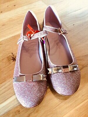 Ted Baker Girls/Ladies Shoes - Rose Gold - Size 6 BNWT