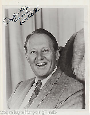 ART LINKLETTER 8x10 hand signed photograph w/C.O.A.