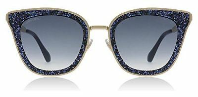 f52c763513eb7 Jimmy Choo LIZZY S KY2 Blue Gold LIZZY S Square Sunglasses Lens Category