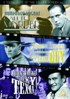 3 Tough Guys Of The Silver Screen Vol 1 DVD Call It Murder / Great Guy / etc NEW