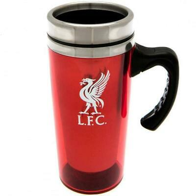 Liverpool FC Official Football Crest Aluminium Travel Mug (One Size) (Red)