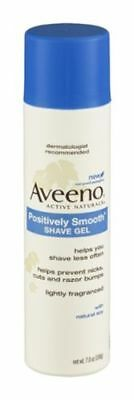 Aveeno Active Naturals Positively Smooth Shave Gel 7 oz