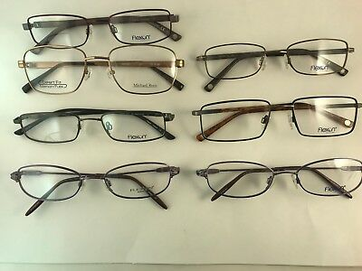 Lot of 7 New Authentic Flexon and flex RX eyeglasses