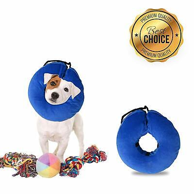 Inflatable Dog Collar, Comfy Cone for Dogs, Dog Recovery Collar, Soft Dog Cone,