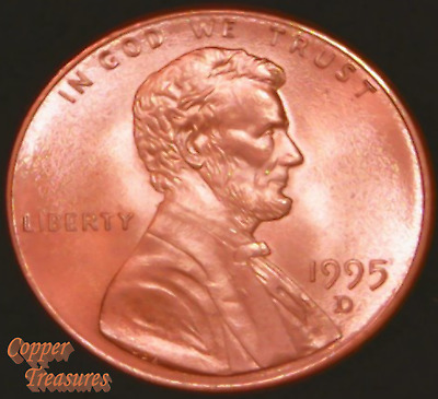 1995 D - Lincoln Memorial Cent FRESH FROM BANK ROLL VERY NICE COINS !