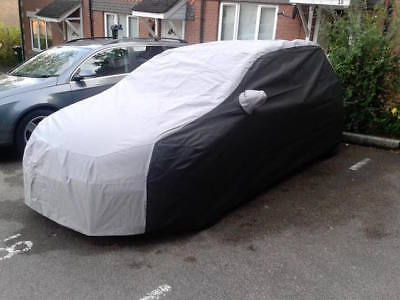 BMW 1 Series Hatch Outdoor Tailored, Breathable Car Cover -Black & Grey E81/E87