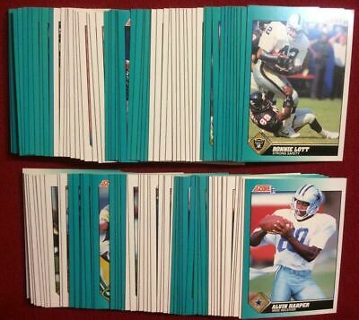1991 Score Rookie & Traded Supplemental Football Cards (#1-110) U-Pick From List
