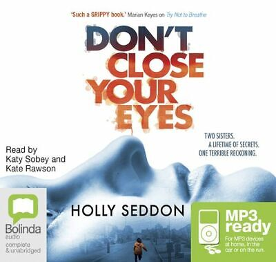 Holly SEDDON / DON'T CLOSE YOUR EYES         [ Audiobook ]