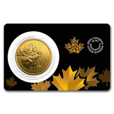 2019 Canada 1 oz Gold Moose .99999 BU (Assay Card) - SKU#185367