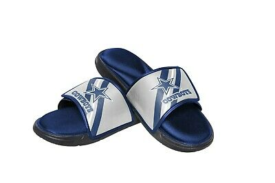 2e7f48fa2a9 DALLAS COWBOYS MENS Sandals NFL Slide Legacy Water Shoes Flip Flops ...