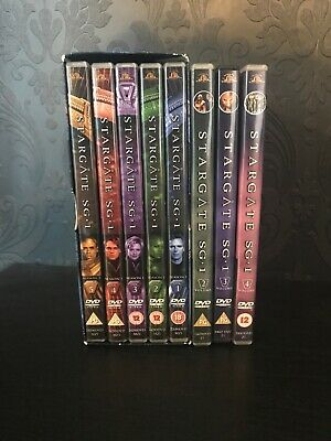 Stargate Sg1 Season 1, Volume 2,3,4 Dvd Collection