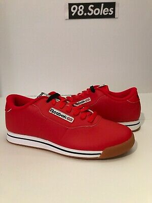 4747476b493b2 Women s Reebok Princess Classic Dv5097 Techy Red white gum Deadstock Brand  New