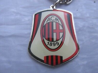 New A.c.milan Football Key Fob Ring Official Merchandise F8/0107