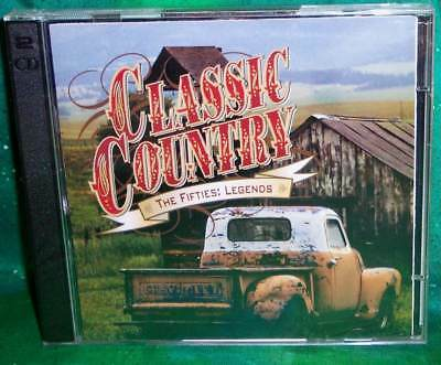 New Oop Time Life Classic Country 50S Fifties Legends 2 Disc Music Cd 30 Tracks