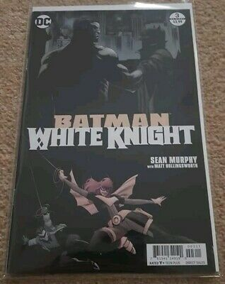 Batman White Knight #3 (DC White Label) RARE First Printing