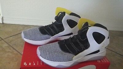 74acb389d26a NEW Nike Air Flight Huarache ULTRA N7 Size 9 White Black Yellow Basketball  KD FK