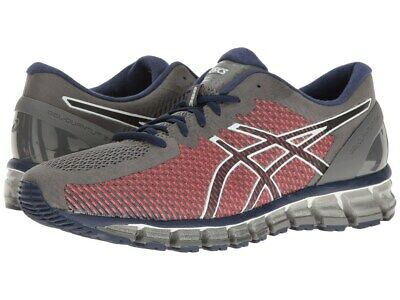 meilleur service da04e 7dc3c ASICS GEL-QUANTUM 360 CM Chameleon Men's Running Shoe (SZ 7) Grey Red Blue  White