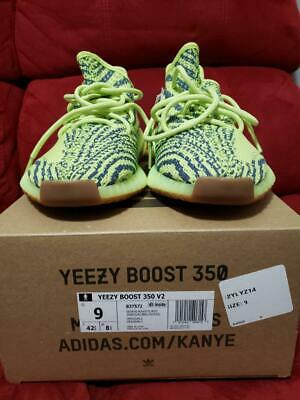 7920aad46 ADIDAS YEZZY BOOST 350 V2 Semi Frozen Yellow size 9 -  250.00