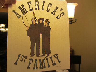 AMERICA THE BEAUTIFUL vintage 70s iron on t shirt transfer
