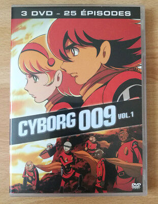 DVD Cyborg 009 - volume 1