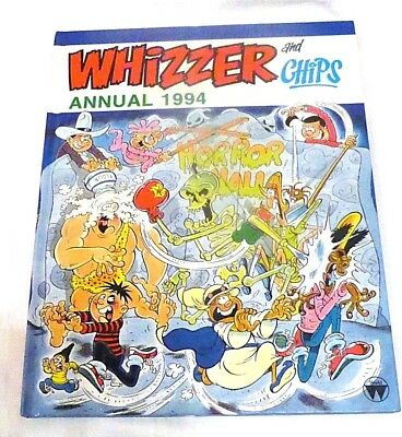 Whizzer and Chips 1994 Annual