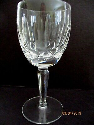 "Waterford Kildare Claret Wine Glass 6 1/2"" Tall- More Available"