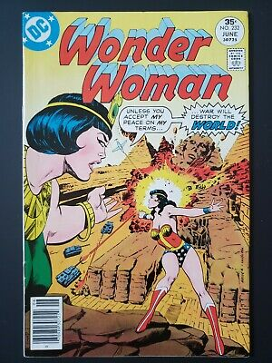 Wonder Woman #232 DC Comics June 1977 Bronze Age! FN/VF 7.0 20% OFF!