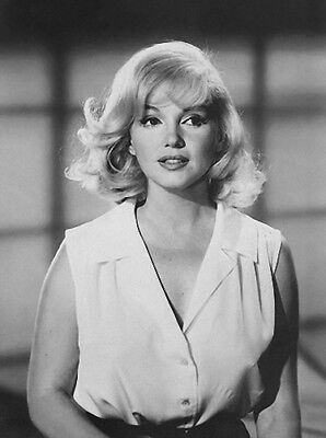 1 RARE 4x6 GalleryQuality PHOTO MARILYN MONROE PLATINUM BEAUTY LOOKING UP