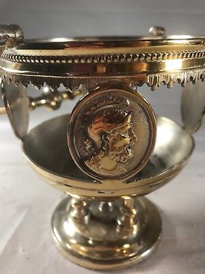 Waters & Thorp Silver Plated Ornate Piece