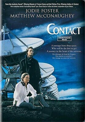 NEW DVD  // CARL SAGAN // Contact // Jodie Foster, Matthew McConaughey, James
