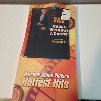 REBEL WITHOUT A CAUSE - DVD In Original Longbox - SEALED!!!  (James Dean)