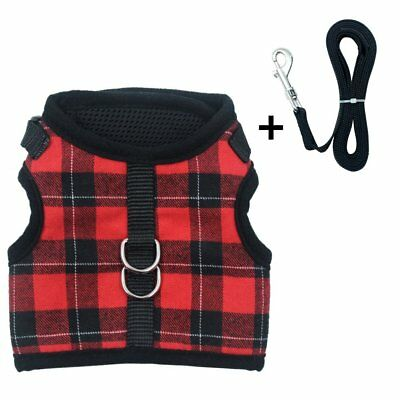 PUPTECK Escape Proof Cat Harness w/Leash Holster Style Adjustable - Many Options