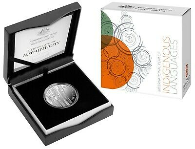 2019 RAM 50 Cent Fine Silver Proof Coin - Year of Indigenous Languages