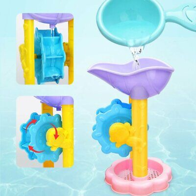 Summer children's play water beach toys Bathroom bath parent-child interactiveB