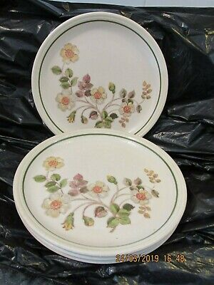 Marks And Spencer Autumn Leaves Salad Plates X 4