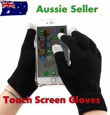 Gloves Warm Winter Touch Screen Glove Knitted Men Women Glove for Tablet Phone