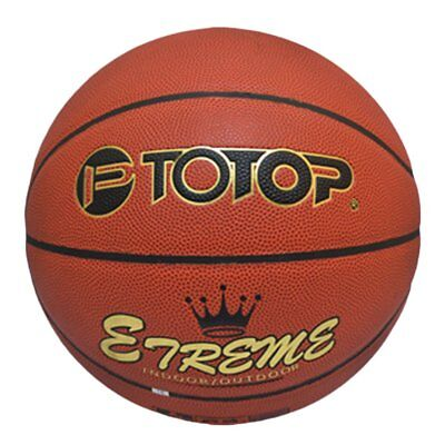 TOTOP PU Leather Basketball Official Size 7 Indoor Outdoor Basketball BallGH