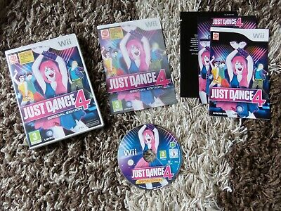 Nintendo Wii Game - Just Dance 4 Special Edition - Boxed & Complete